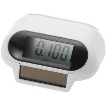 Podómetro de alimentación solar personalizado blanco