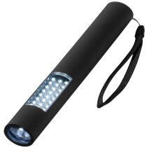 Linterna magnética de 28 luces led personalizada negro intenso