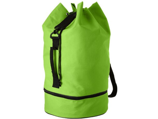 Petate con doble compartimento personalizado verde claro