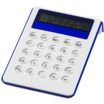 Calculadora con alzador personalizada blanca