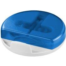 Cascos auriculares con soporte barato azul transparente