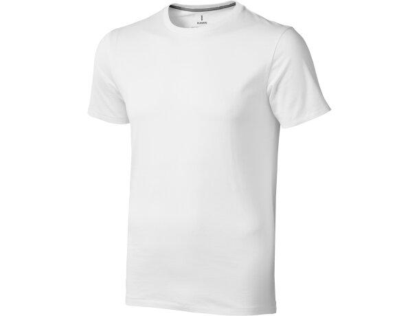 Camiseta de hombre alta calidad 150 gr personalizada blanca