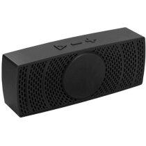 Altavoz con bluetooth y micrófono integrado negro intenso