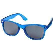 Gafas de sol barato varios colores transparentes personalizada azul