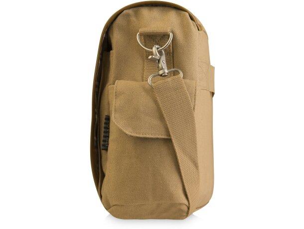 Bolsa para portátil personalizado de algodón y piel personalizada