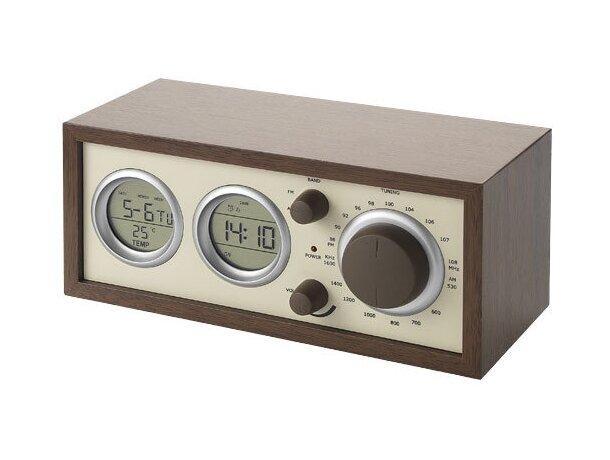 Radio clásica de madera con varias funciones personalizado madera