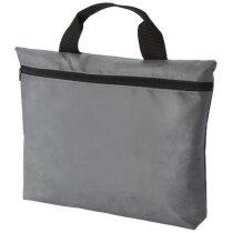 Bolsa para congresos de polipropileno no tejido personalizada gris