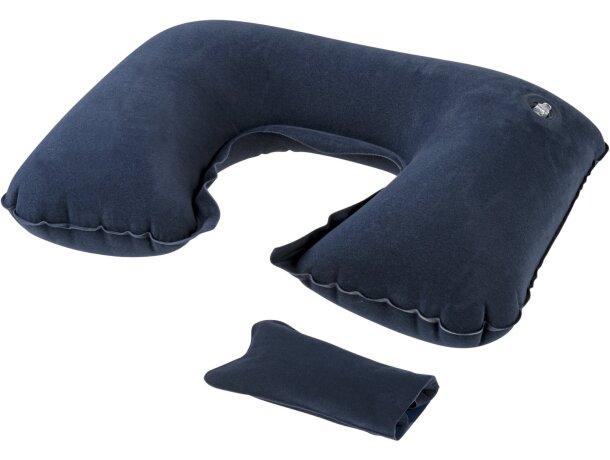 Almohada inflable de PVC barata gris