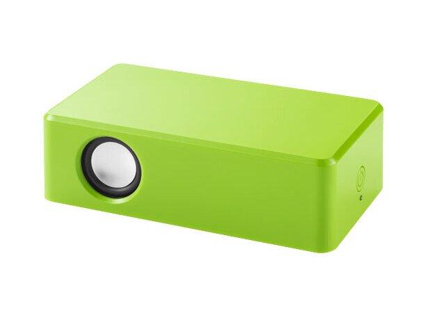 Altavoz para smartphone personalizado verde claro