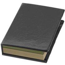 Set de notas adhesivas personalizada negro intenso