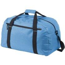 Bolsa de viaje de poliéster 600d personalizada azul