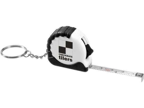Llavero con logo cinta métrica de 1m