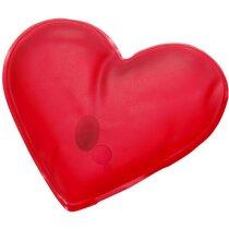 Parche de calor corazón rojo