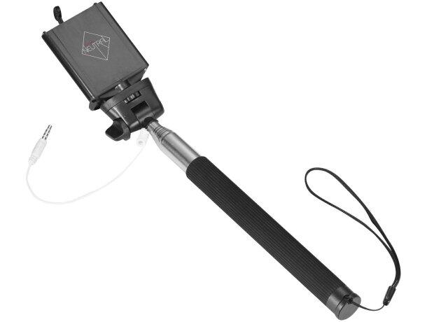Palo extensible para selfie con soporte