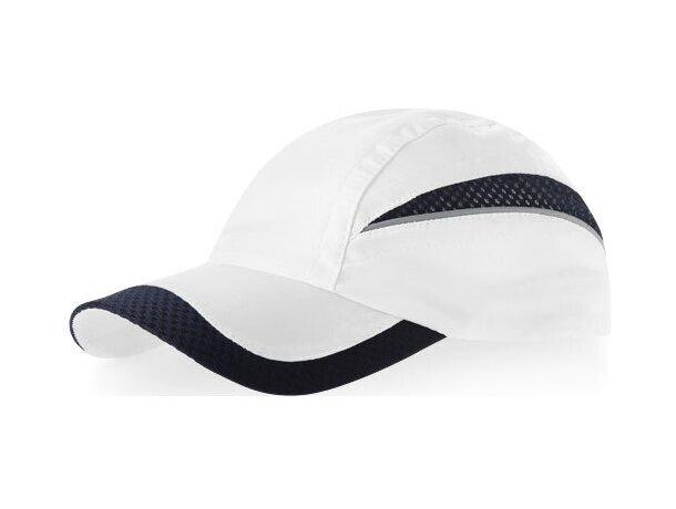 Gorra de diseño combinado y colores especiales personalizada blanca