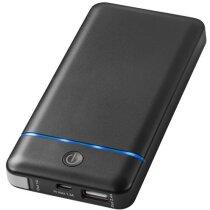 Batería externa 10200 personalizada negro intenso