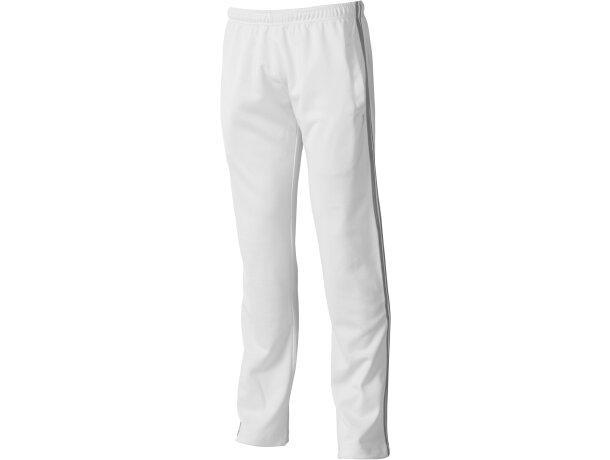 Pantalón de deporte cintura elástica personalizado blanco