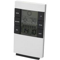 Estación meteorológica varias funciones personalizada plata