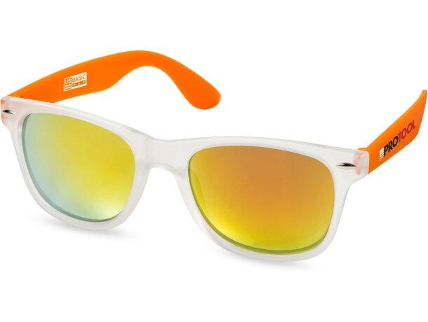 Gafas de sol de policarbonato uv 400 grabado