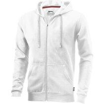 Sudadera Slazenger con capucha personalizada blanca