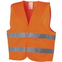 Chaleco de seguridad para carretera personalizado naranja