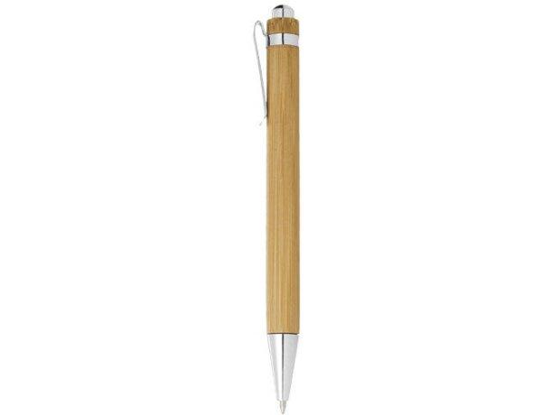 Bolígrafo de bambú personalizable personalizado