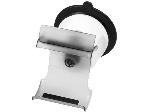 Soporte con ventosa para manos libres personalizado blanco transparente