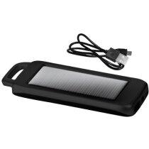 Set de cargador solar de 1500 mah personalizado negro intenso