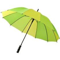 Paraguas de colores automático personalizado verde