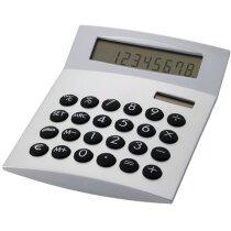 """Calculadora de Sobremesa """"face-it"""" personalizada plata"""
