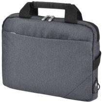 Bolsa de congresos para tablet grabado gris