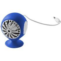 Altavoz redondo de diseño original azul medio