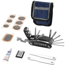 Kit para reparación de ruedas de bici personalizado azul marino