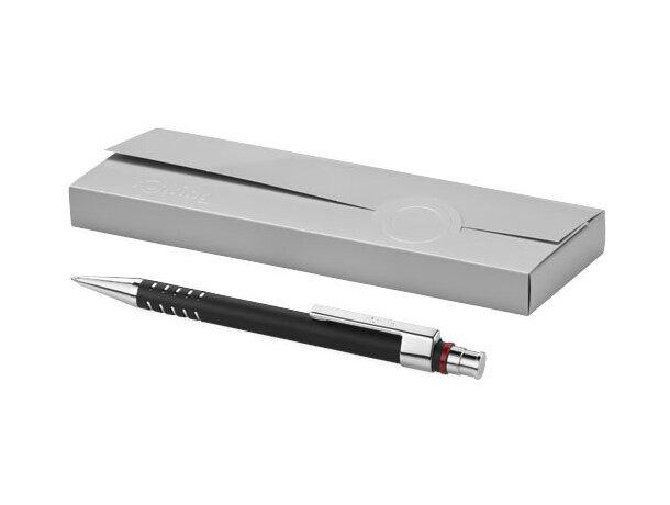 Bolígrafo elegante de alta calidad con caja Rotring personalizado negro intenso