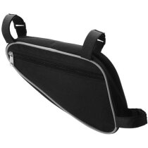 Bolsa para el cuadro de bicicleta personalizada negro intenso