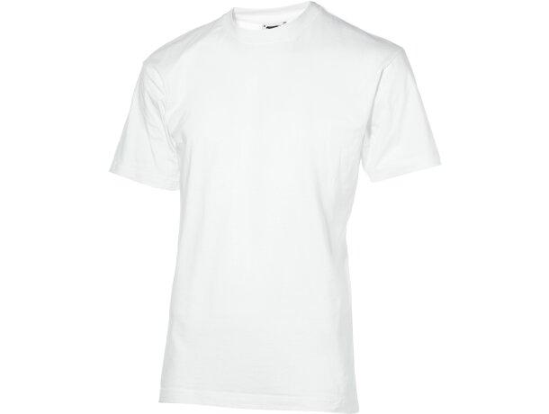 Camiseta unisex alta calidad 180 gr personalizada blanca