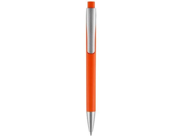 Bolígrafo de caña cuadrada con clic