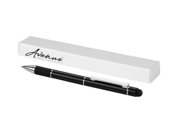 Bolígrafo con puntero de metal muy elegante