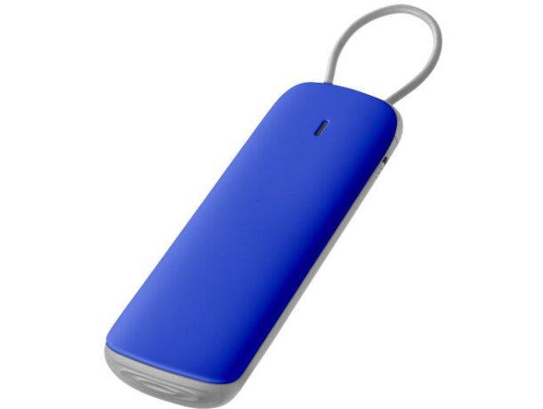 Batería externa de 3000 mah personalizada azul
