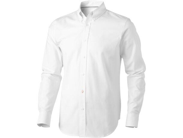 Camisa hombre de algodón blanca