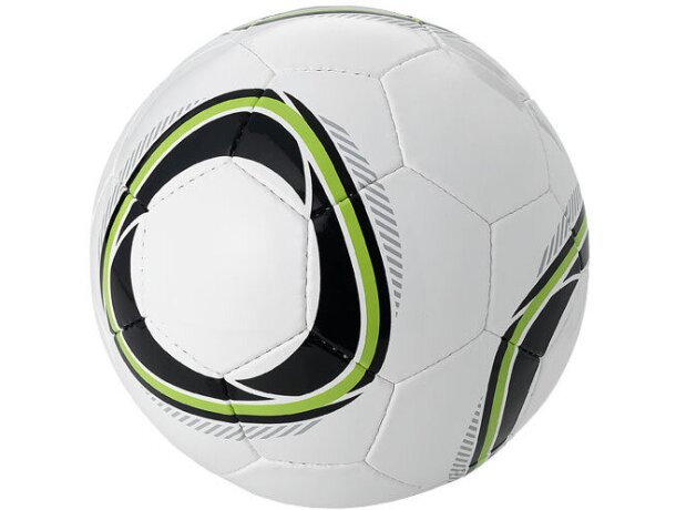 Balón de fútbol diseño exclusivo blanco