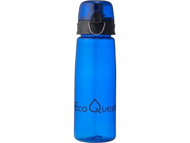 Botella con tapa abatible 700 ml con logo