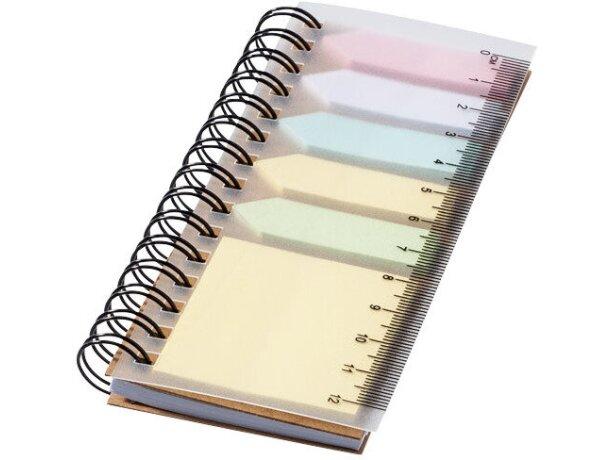 Set de notas adhesivas y marcadores barata blanco roto