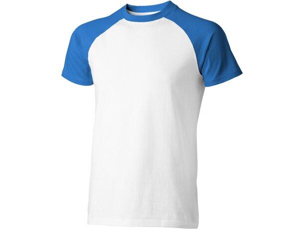 "Camiseta de manga corta ""backspin"" blanca"