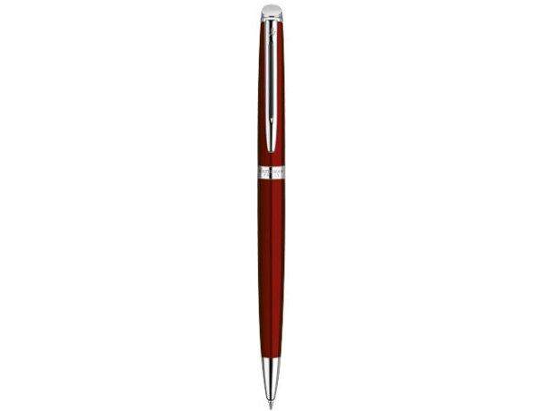 Bolígrafo en caja con material lacado personalizado