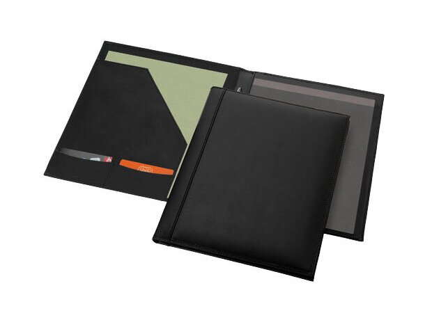 Portafolios A4 fabricado en piel personalizado