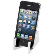 Soporte fino para smartphone en varios colores grabado blanco