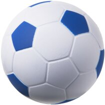 Antiestrés balón de fútbol azul