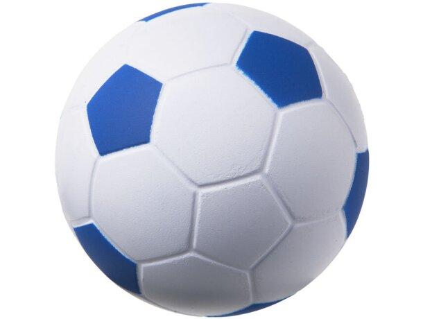 Antiestrés balón de fútbol barata azul