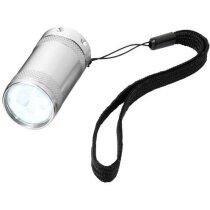 Linterna alta luminosidad 5 leds personalizada plata
